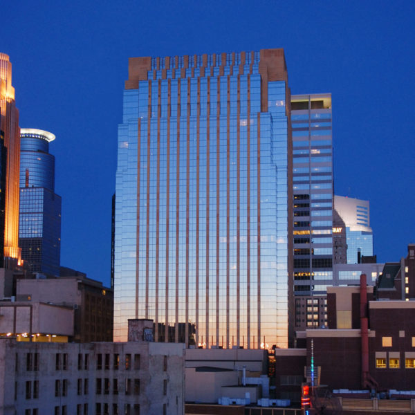 The entire LaSalle Plaza office building in Minneapolis, MN, managed by Zeller.