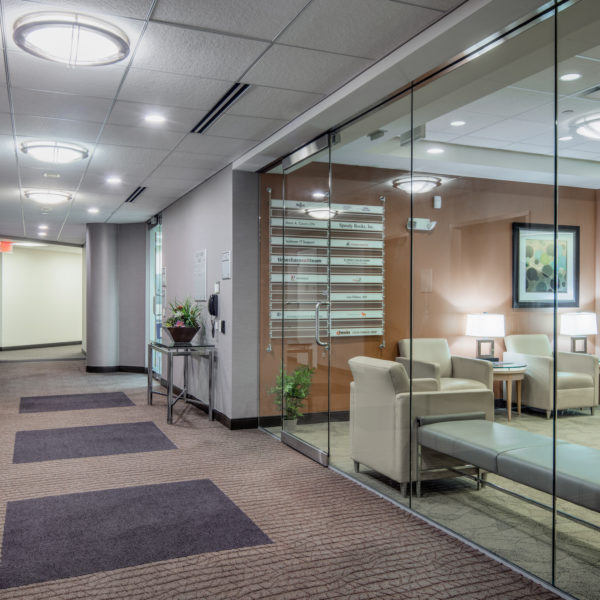 The new Old Orchard Towers tenant office located in Skokie, Illinois.